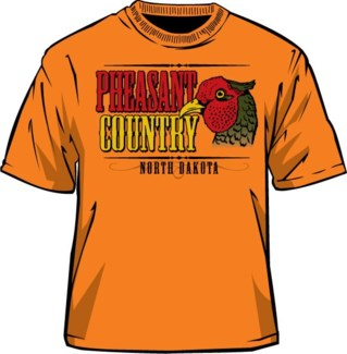 ND Pheasant Country Orange Tee M